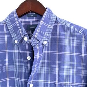 "J. Crew ""Slim Washed Shirt"" in Plaid"